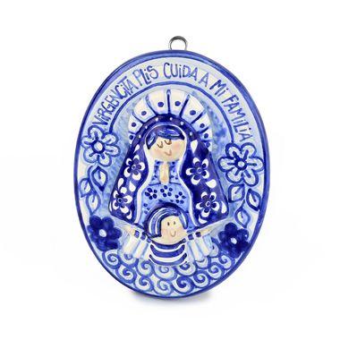 Medallon-Redondo-Talavera-Virgen-de-los-Lagos