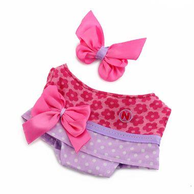 Vestido-Flores-y-Dots-Rosa-y-Lila-Prematuro