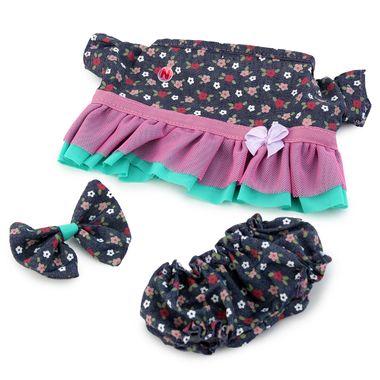 Vestido-mezclilla-flores-azul-rosa-y-menta-Espumanti