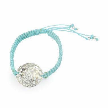 Pulsera-Tejida-Azul-con-Medalla-calada-Plateada-Virgencita-