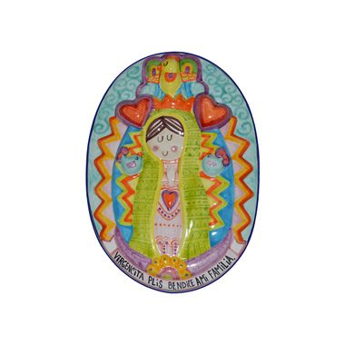 placa-virgen-relieve-color