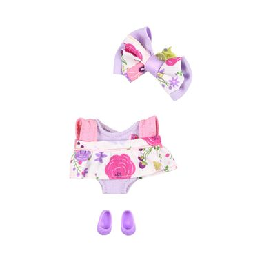 Vestido-Lila-con-Tirantes-Rosas-Ksimerito
