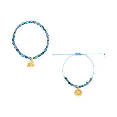 Pulsera-Azul--Dije-Elefante-y-Ojo