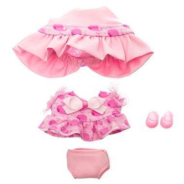 Vestido de tul rosa con sombrero Mikromerito