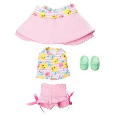 Conjunto short, blusa y sombrero Chamoy