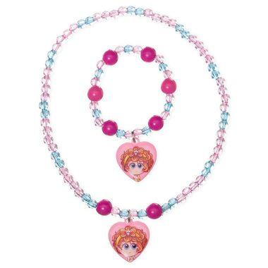 Set de collar y pulsera Chamoy princesas