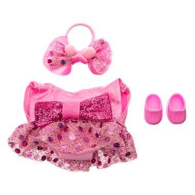 Vestido Fiesta de lentejuela rosa para Ksimerito