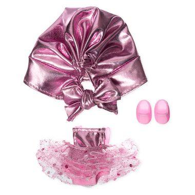 Vestido-Tul-Metalico-Rosa-Para-Ksimerito