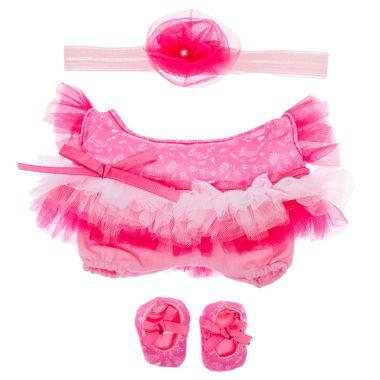 Accesorio-de-juego-K-ki-to-Cutiur-vestido-con-olanes-degradado-rosa