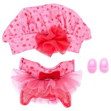 Accesorio-de-juego-Ksi-merito-Cutiur-vestido-tul-con-boina-coral