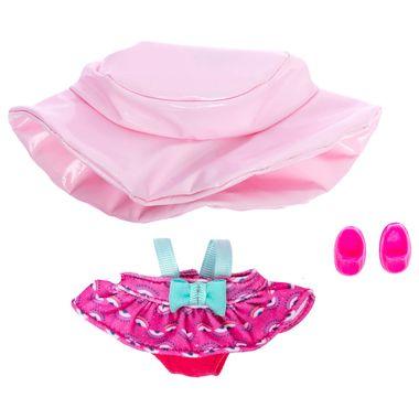 Accesorio-de-juego-Ksi-merito-Cutiur-vestido-con-sombrero-rosa