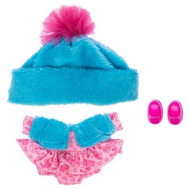 Ksi-Ropa-Vestido-Rosa-Con-Gorro-Azul